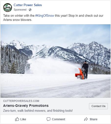Ariens Snow Awareness