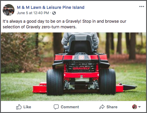 Gravely-zero-turn-mower